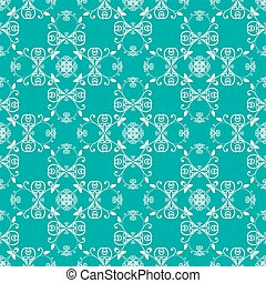 green blue seamless pattern