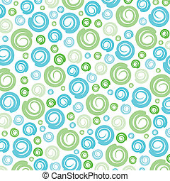 Green-Blue swirl pattern background