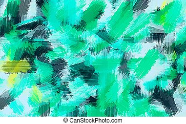 green blue yellow and black painting texture abstract background
