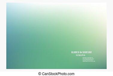 green blur background.