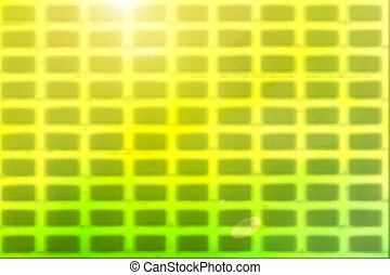 Green blur background with light