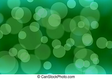 Green blurred abstract bokeh background