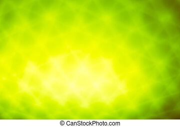 green bokeh abstract blurred light background
