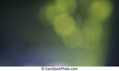 Green bokeh circles abstract background