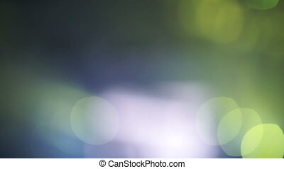 Green bokeh circles abstract background