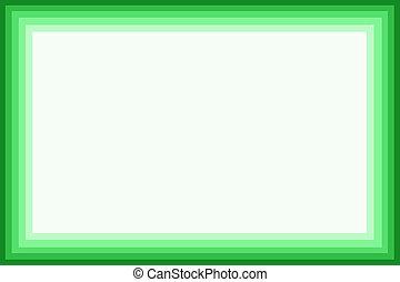 Green border - Shaded green border