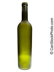 Green Bottles Of Alcoholic Drinks
