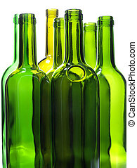 Green bottles three