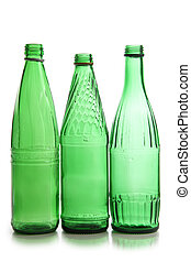 Green bottles vine