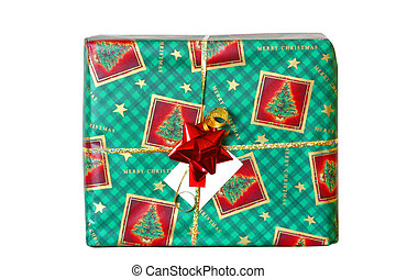 green boxed gift