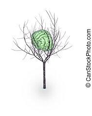 green brain tree