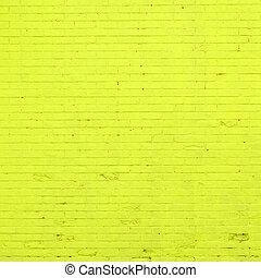 green brick wall texture