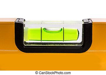 Green bubble level