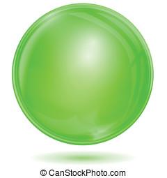 Green bubble