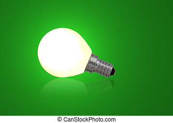 Green bulb. Use it for concepts.