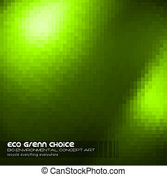 Green Business Concept Background