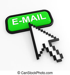 Green button E-MAIL with arrow cursor.