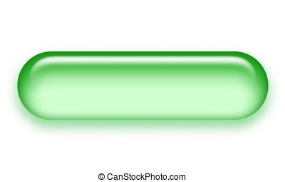 green button - green pill button for internet use