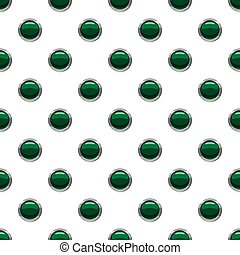 Green button pattern