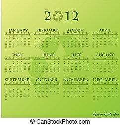 Green Calendar