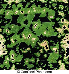 green camouflage seamless texture