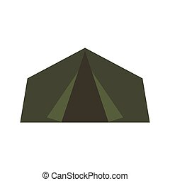 Green Camping Tent.