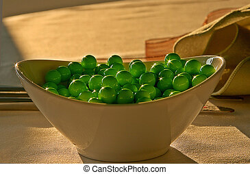 Green Candy Peas