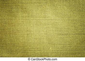 Green canvas fabric