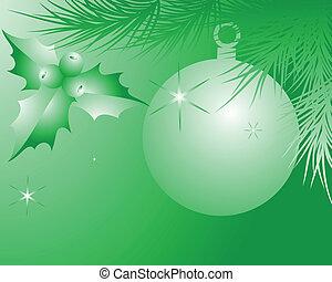 green celebratory background