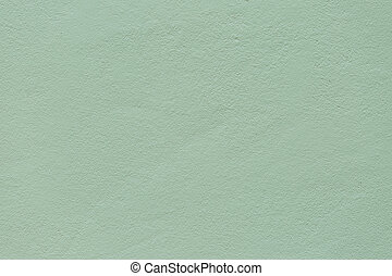 green cement wall