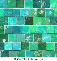 ceramic tile - green ceramic tile