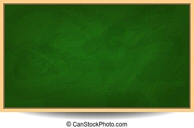 Green chalkboard background vector illustration