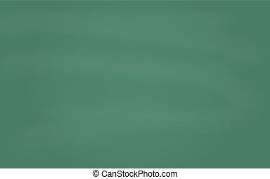 Green chalkboard background. Vector illustration