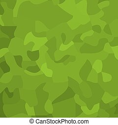 Green chaotic texture. Vector illustration - Abstract green...