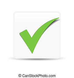 Green Check Mark Symbol - Green check mark symbol and icon...
