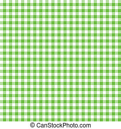 Green checkered background