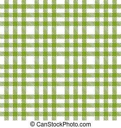 green checkered pattern - endless
