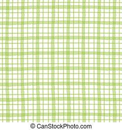 Green checkered pattern