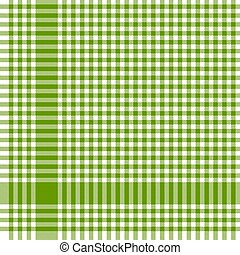 green checkered table cloth pattern - green colored ...