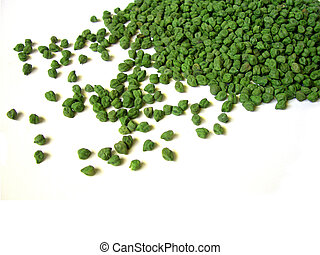 Green Chick Peas Scattered 2