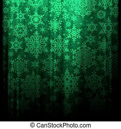 Green Christmas background. EPS 10