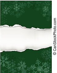 Green christmas background with tor - Green grunge ...