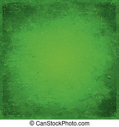 Green Christmas themed grungy background
