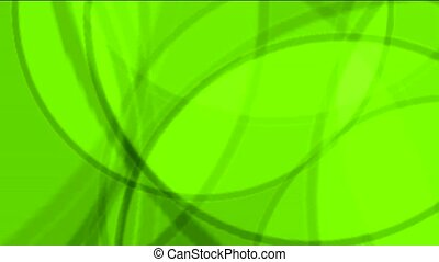green circle light,defocused circle