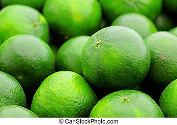green citrus fruit