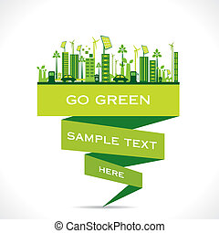 green city building or go green