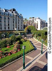Green city centre, Paris France