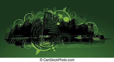 Green city design