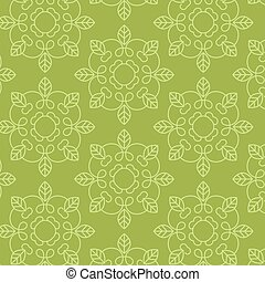 Green clean seamless pattern design