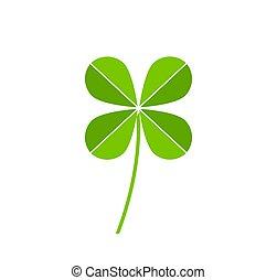 Green clover icon